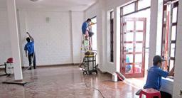 Tổng vệ sinh sau khi xây dựng